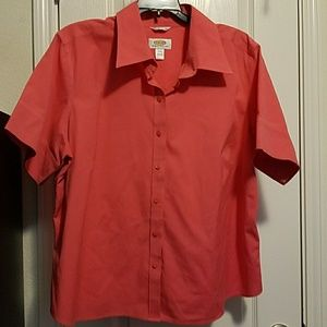 EUC Talbots petite button down blouse